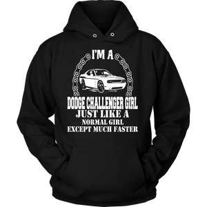 I'm a Dodge Challenger Girl