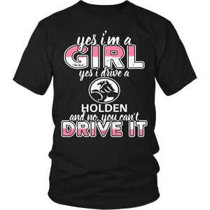 Yes I'm a Girl, Yes I Drive a Holden