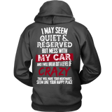 I May Seem Quiet And Reserved But Miss With My CAR!!!
