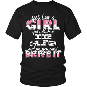Yes I'm a Girl, Yes I Drive a Dodge Challenger
