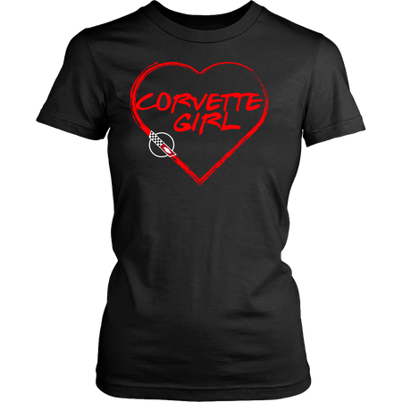 Corvette C4 Girl Heart