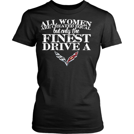All Women Are Created Equal Corvette New