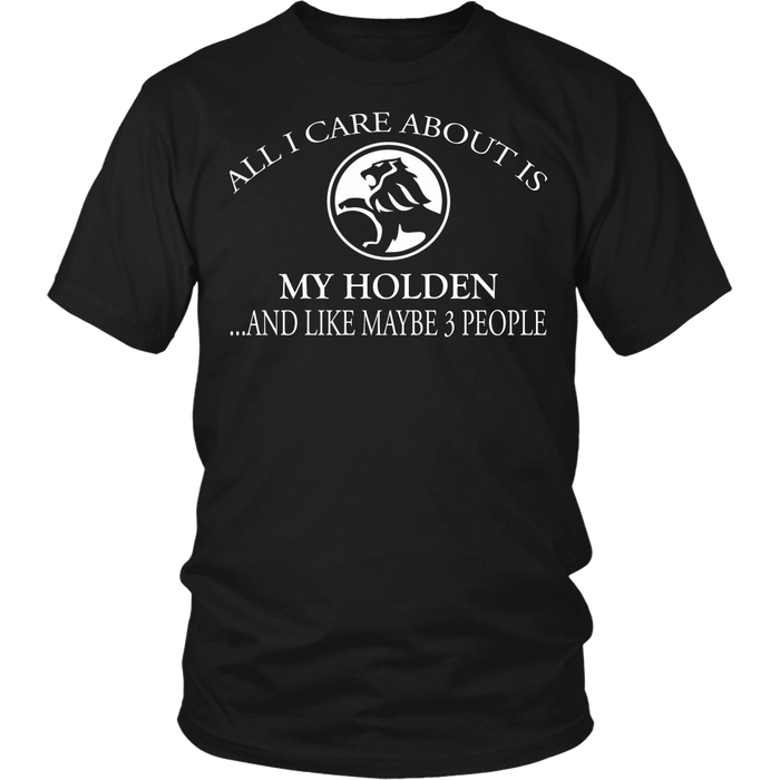 All I Care About Is My Holden And Like Maybe 3 People!