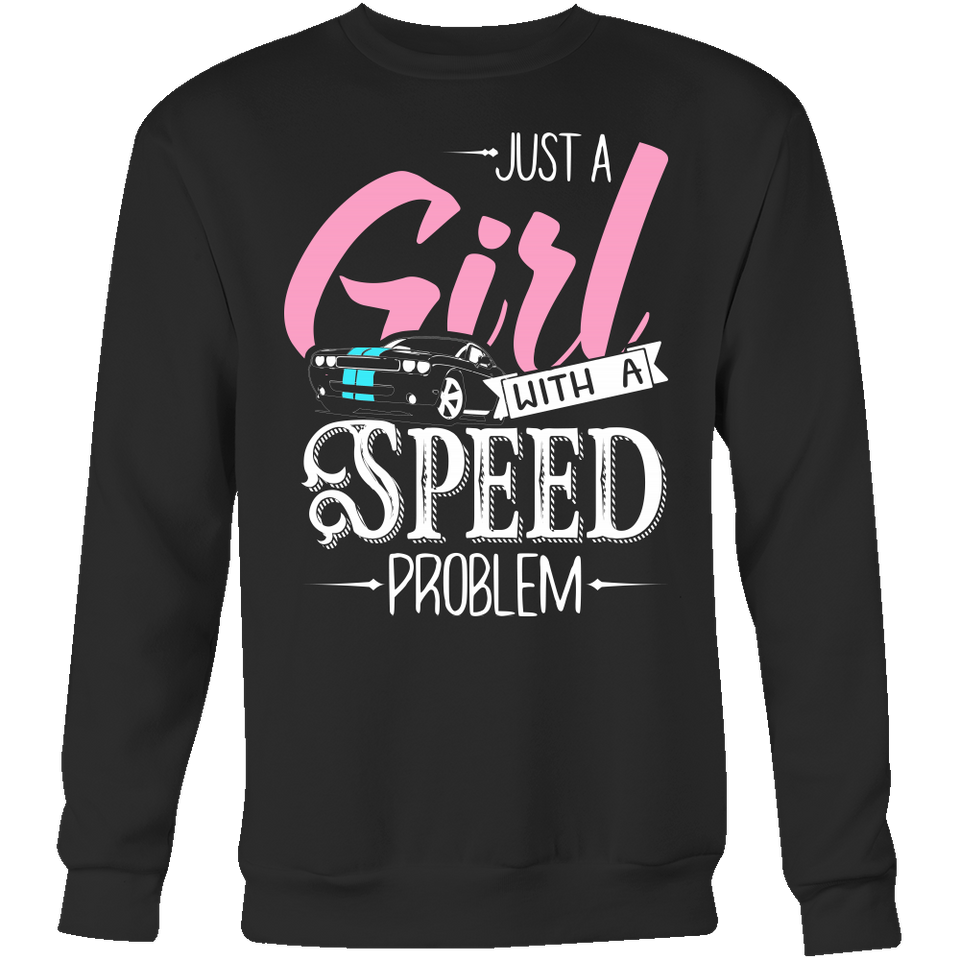 Just a Girl With a Speed Problem Dodge Challenger AR