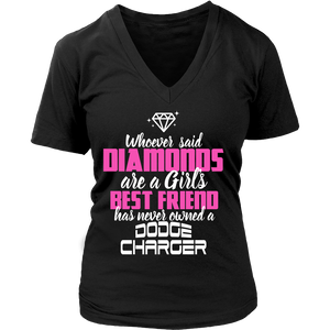 Whoever Said Diamonds Dodge Charger