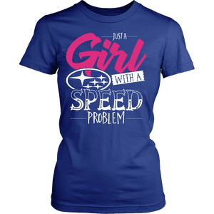 Just a Girl With Speed Problem Subaru N