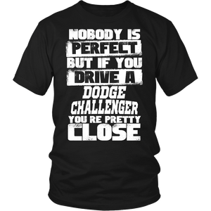 Nobody Body Is Perfect Dodge Challenger