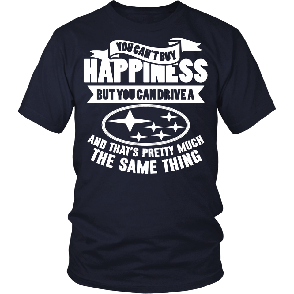 You Can't Buy Happiness Subaru
