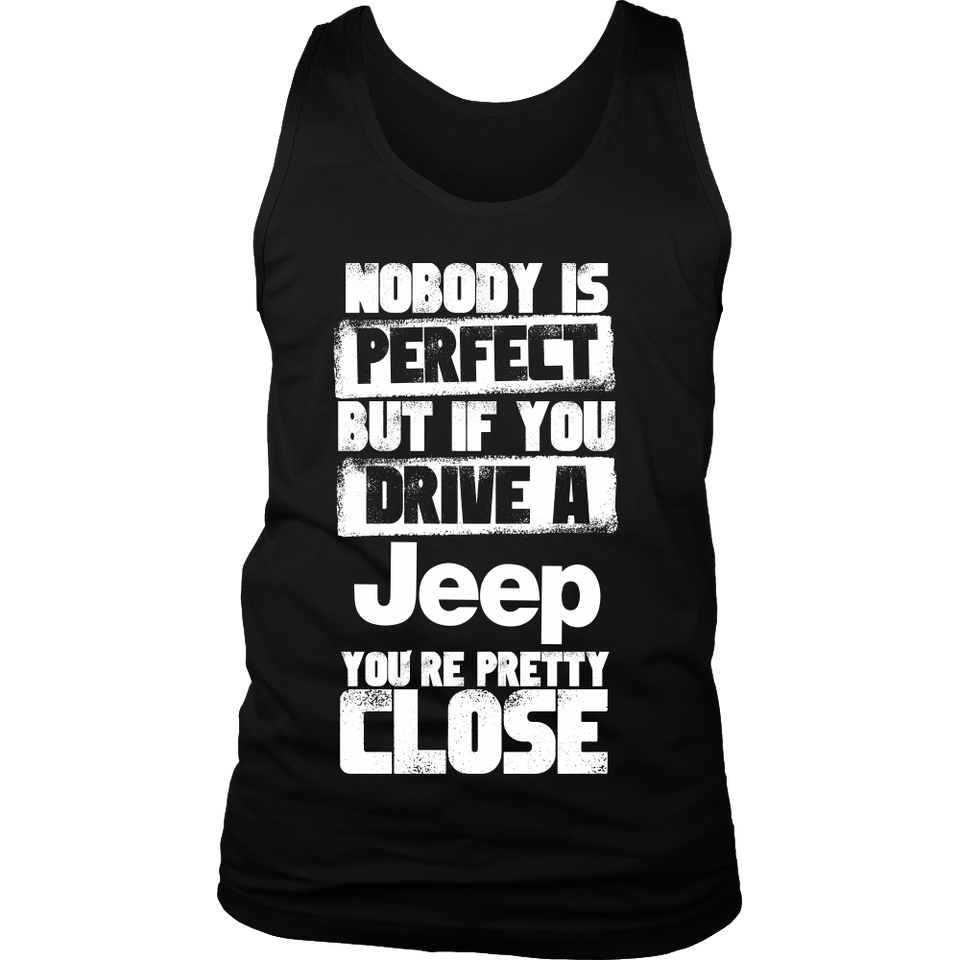 Nobody Body Is Perfect Jeep