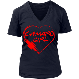Camaro Girl Heart