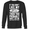 If You Don't Like My Ford