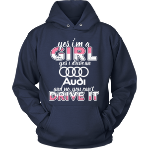 Yes I'm a Girl, Yes I Drive a Audi