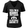 Yes I'm a Girl, Yes I Drive a Mopar n