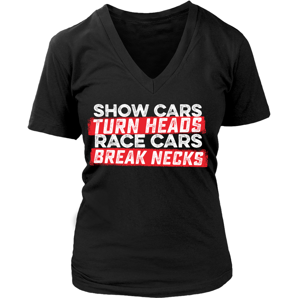 Show Cares Turn Heads Race Cars Break Necks
