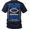 Limited Edition - Ford Old Time Quality Design On The Back!