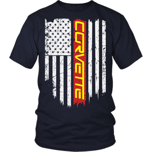 Limited Edition - Corvette US Flag