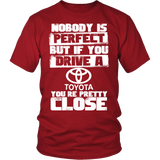 Nobody Body Is Perfect Toyota