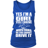 Yes I'm a Girl, Yes I Drive a Mustang N