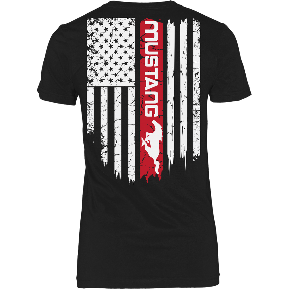 Limited Edition - Mustang Us Flag N