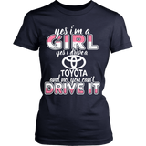Yes I'm a Girl, Yes I Drive a Toyota