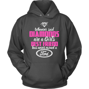 Whoever Said Diamonds Ford