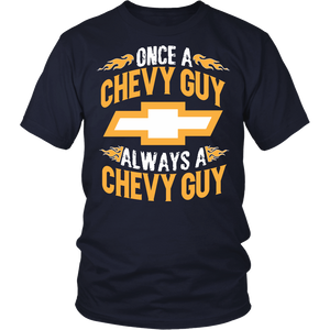 Once A Chevy Guy, Always A Chevy Guy!