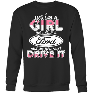 Yes I'm a Girl, Yes I Drive a Ford n
