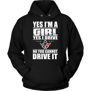 Yes I'm a Girl, Yes I Drive A Corvette C5