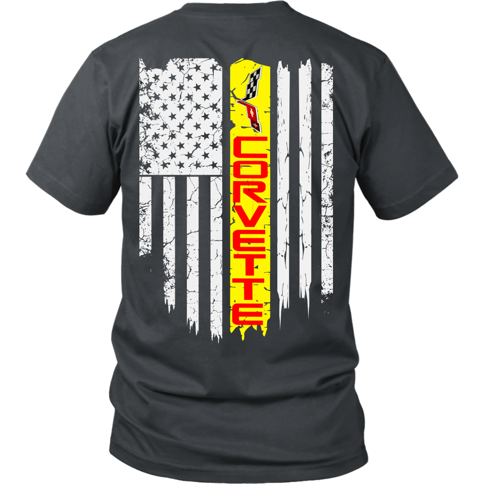 Limited Edition - Corvette US Flag C6