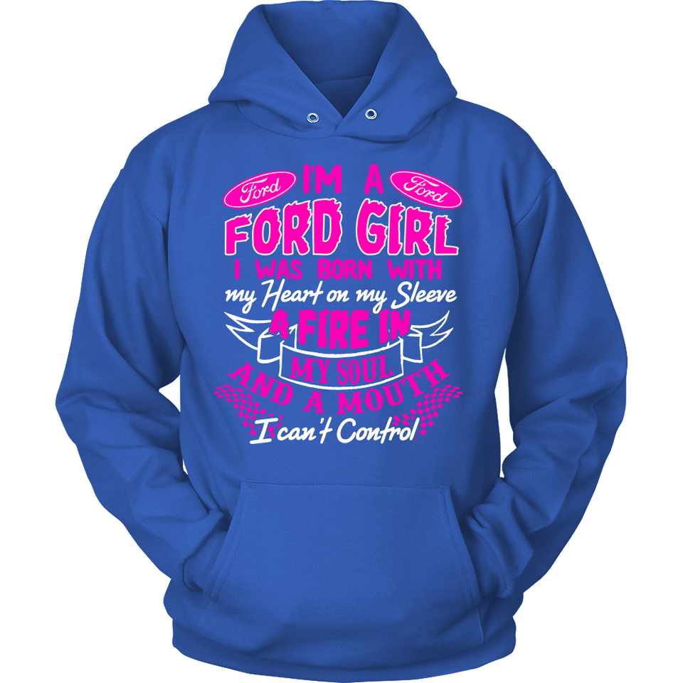 I'm A Ford Girl, I Was Born With My Heart PV!