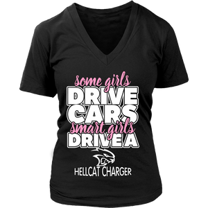 Smart Girls Drive a Hellcat Charger