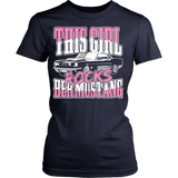 This Girl Rocks Her Mustang Classic