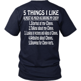 Five Things I Like Chevy