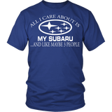 All I Care About Is My Subaru