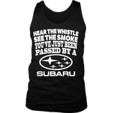 Hear The Whistle See The Smoke You've Just Been Passed By a Subaru