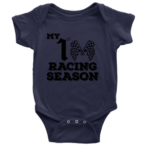 My First Racing Season Onesies!