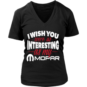I Wish You Were As Interesting As My Mopar