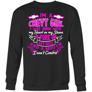 I'm A Chevy Girl, I Was Born With My Heart On My Sleeve PV