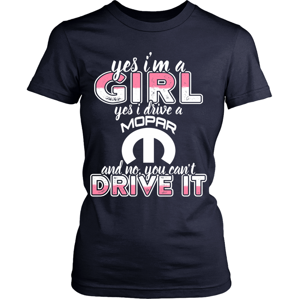 Yes I'm a Girl, Yes I Drive a Mopar