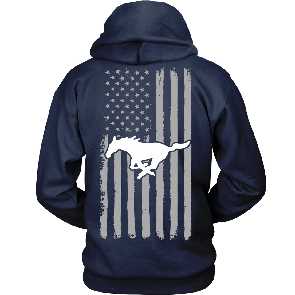 Limited Edition - Mustang Us Flag