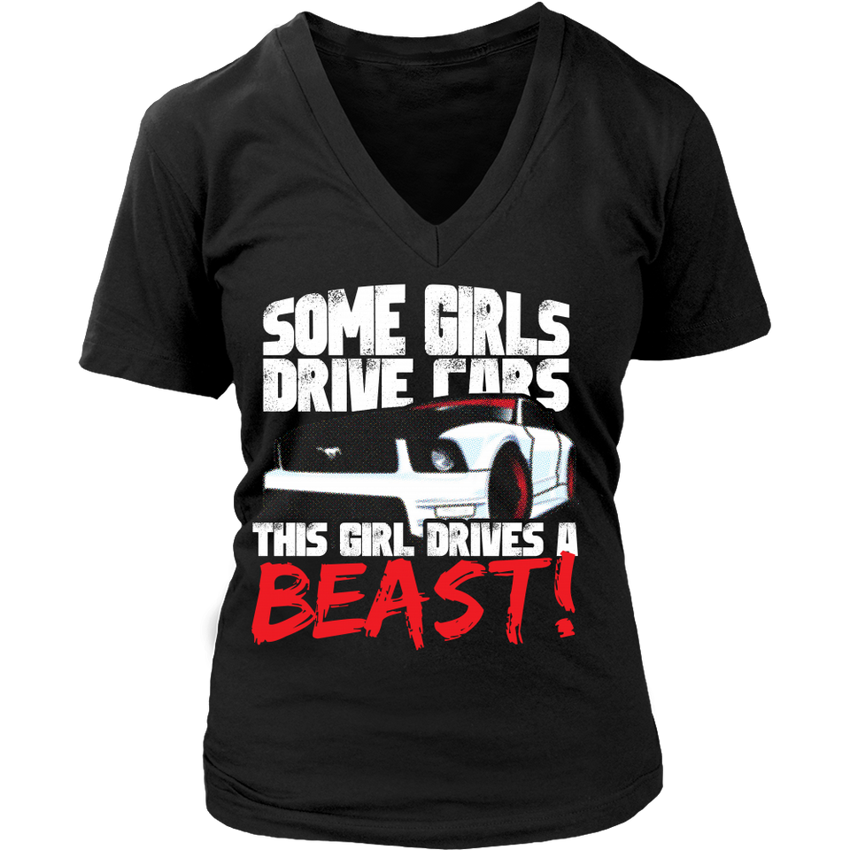 Some Girls Drive Cars, This Girl Drives a Beast