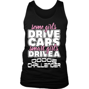 Smart Girls Drive a Dodge Challenger