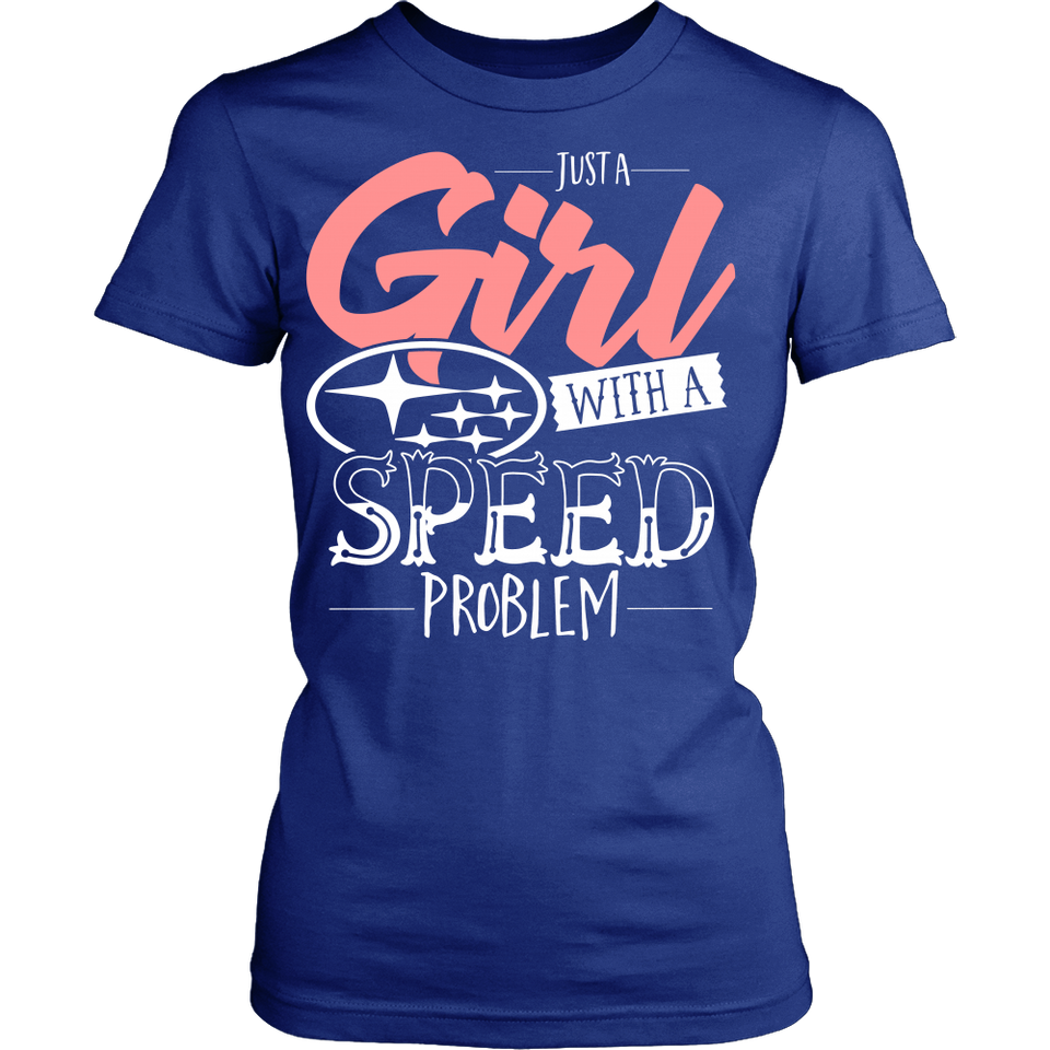 Just a Girl With Speed Problem Subaru