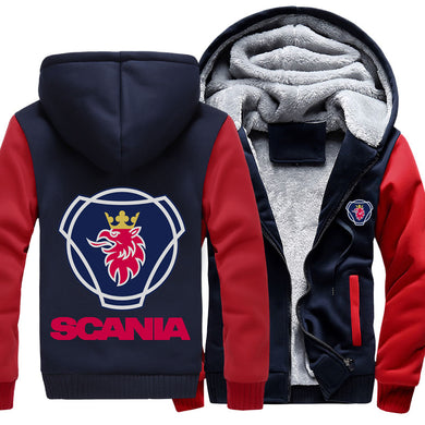 Super Warm Scania Jackets With FREE SHIPPING!