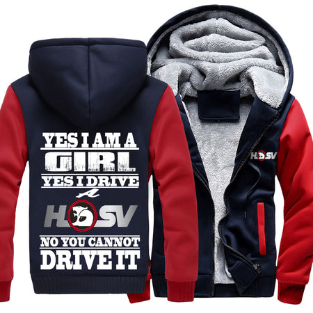 Superwarm Yes I'm  Girl Yes I Drive A HSV Jackets With FREE SHIPPING!