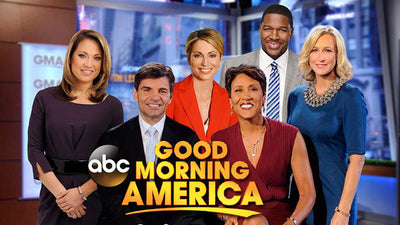 Featured in<br>Good Morning America