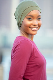 Olive Green Hijab UnderScarf - Abaya, Hijabs, Jilbabs, on sale now at UrbanModesty.com