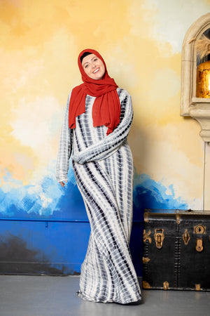 Purple Lattice Abaya Maxi Dress - Abaya, Hijabs, Jilbabs, on sale now at UrbanModesty.com