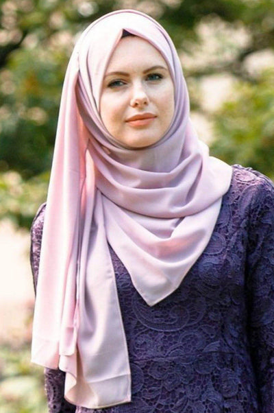 Lavender Chiffon Hijab - Abaya, Hijabs, Jilbabs, on sale now at UrbanModesty.com