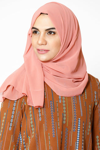 Berry Shimmer Hijab Head Scarf